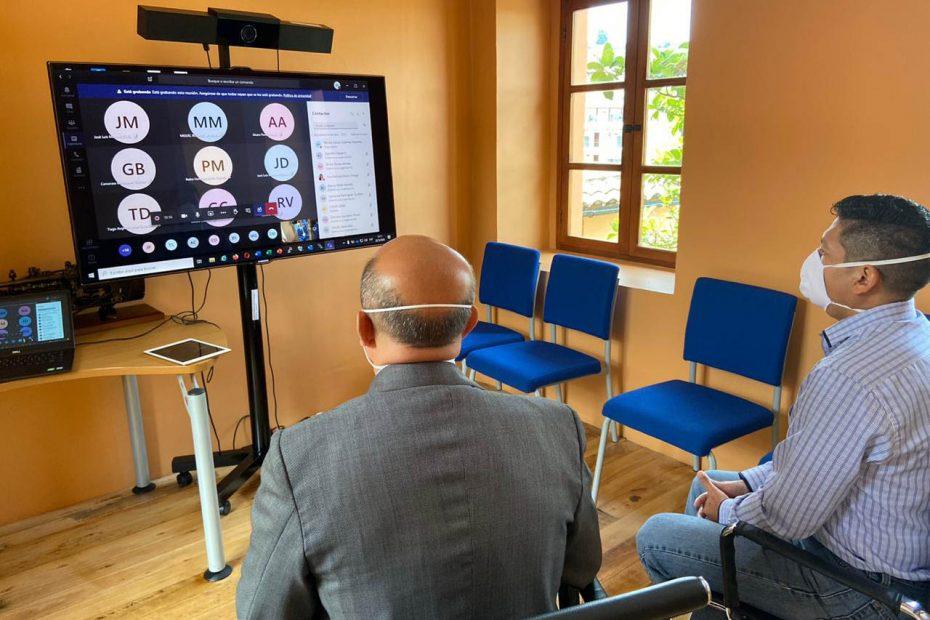 Reunión virtual entre Metro de Quito y las empresas internacionales interesadas en la operación