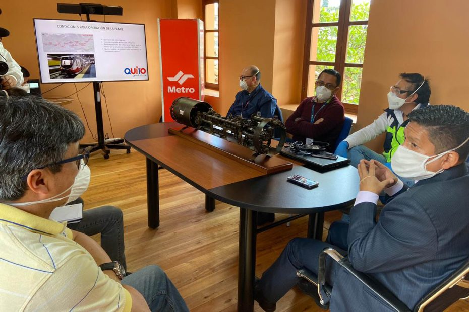 Reunión de autoridades cantonales de Mejía y Rumiñahui con Metro de Quito