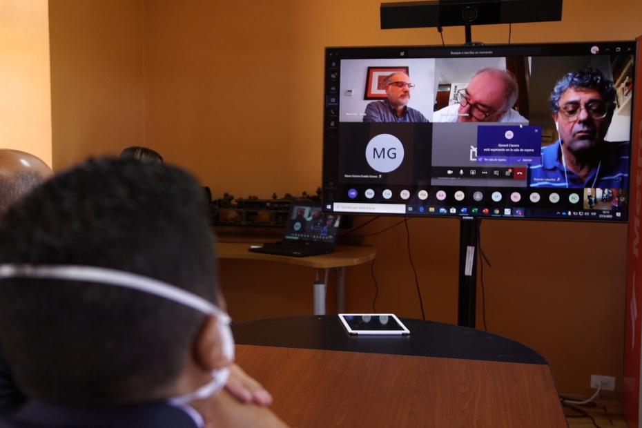 Segunda reunión virtual con operadoras internacionales