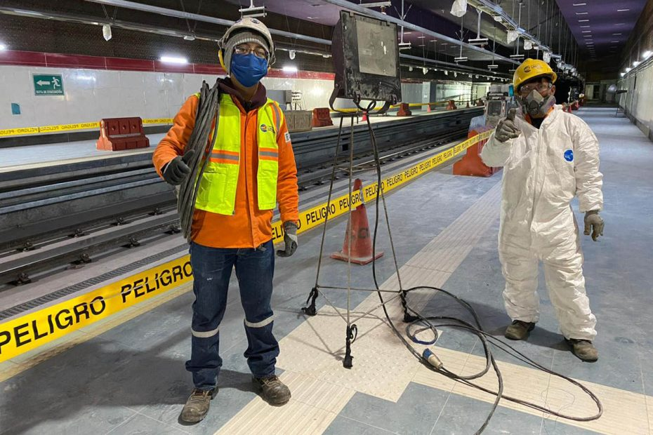 Desde el miércoles 3 de junio se reactivan algunos puntos de obra del Metro de Quito.