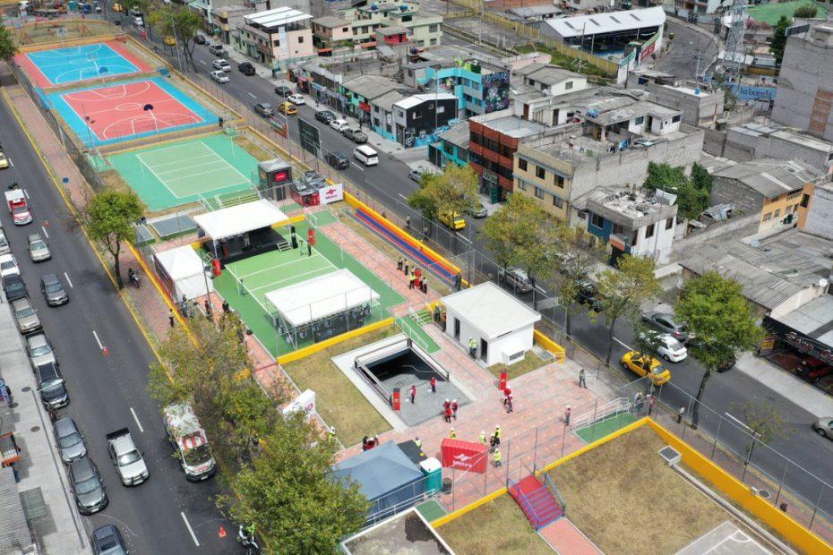 EEl 27 de julio el Alcalde de la capital recorrió la Estación del Metro Cardenal de La Torre e inauguró el parque lineal de este sector tras la culminación de la obra que beneficia a más de 50 mil habitantes.