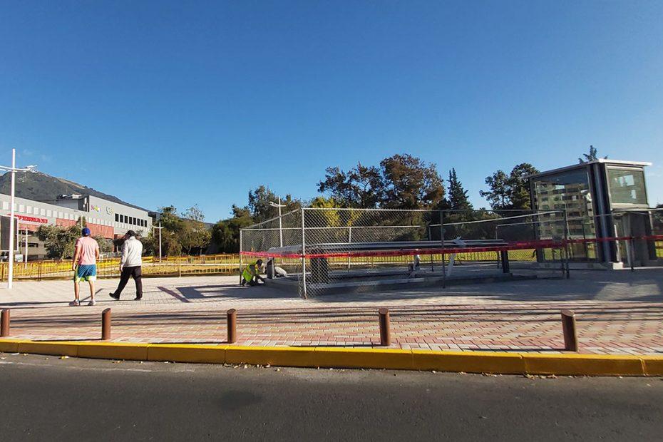 Habilitada la Zona Metro de la Estación Carolina, en el cruce de las avenidas Eloy Alfaro y República.