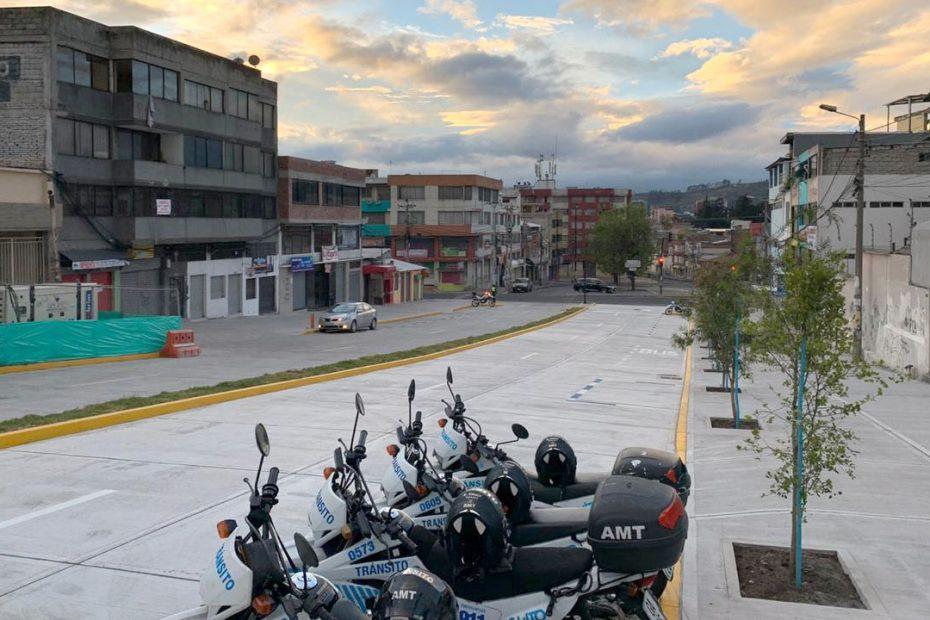El 29 de julio, el Metro de Quito habilitó la calle Marchena al tránsito vehicular y peatonal en el tramo comprendido entre la avenida América y calle Antonio de Ulloa.