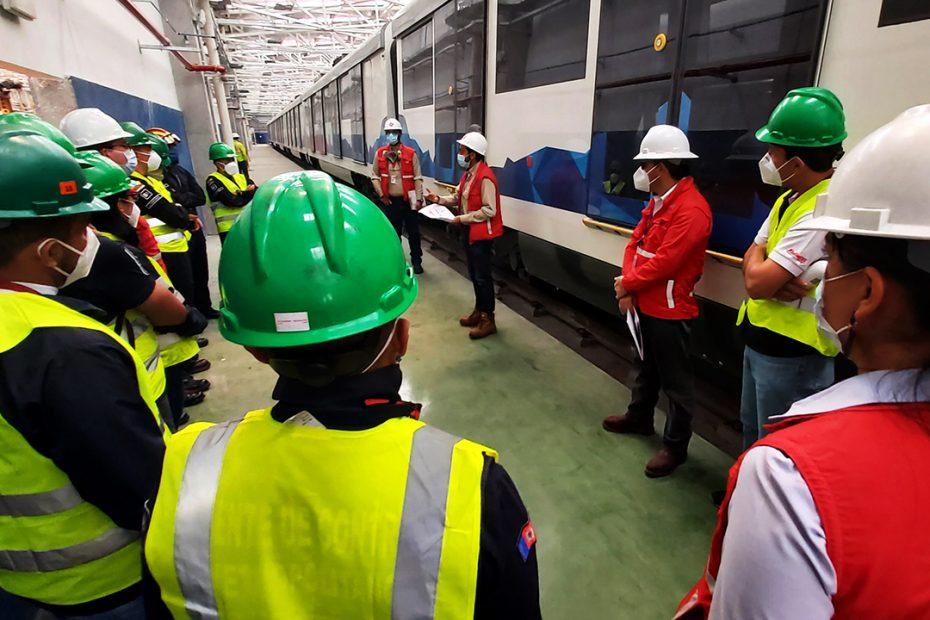 El 18 de septiembre el Metro dirigió una visita interinstitucional para la revisión de los subsistemas de seguridad en Talleres y Cocheras y estación Morán Valverde.