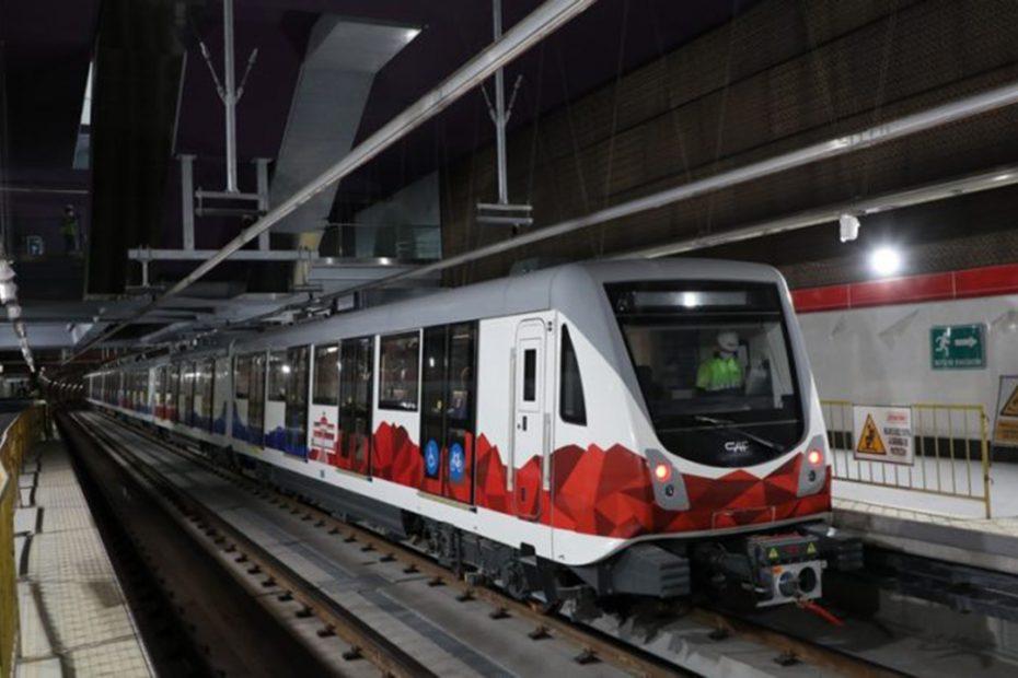 El 8 de octubre el Metro realizó el primer movimiento de trenes desde Talleres y Cocheras hasta la Estación Universidad Central con movimiento autónomo.