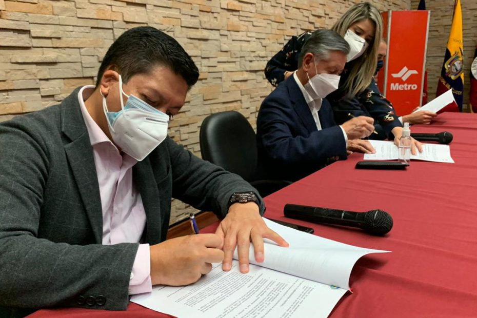 El 20 de noviembre se firmó un acuerdo de cooperación interinstitucional para la construcción de un acceso y un ascensor en la Universidad Central.