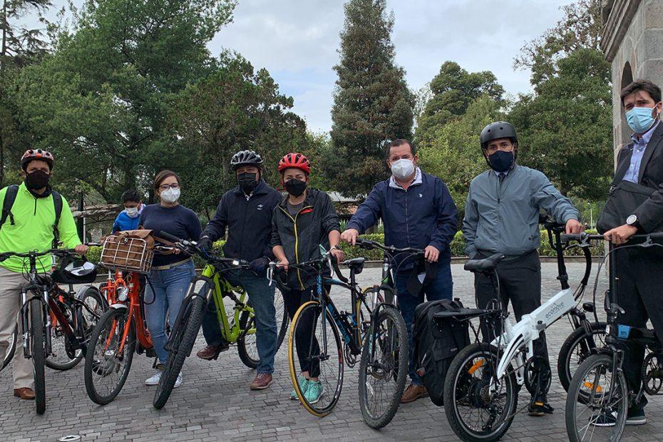 Metro de Quito se sumó a la iniciativa 'Al Trabajo en bici' por el Día Mundial Sin Auto este 22 de septiembre.