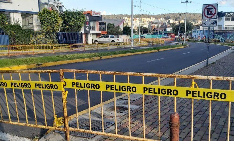 El 2 de febrero el Metro de Quito inició los trabajos para la reposición del parque de la calle Isla Tortuga, cerca de la estación Jipijapa.
