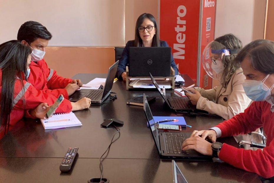 En sesión ordinaria del Concejo Metropolitano la gerenta general del Metro de Quito presentó los avances de los tres últimos meses de gestión.