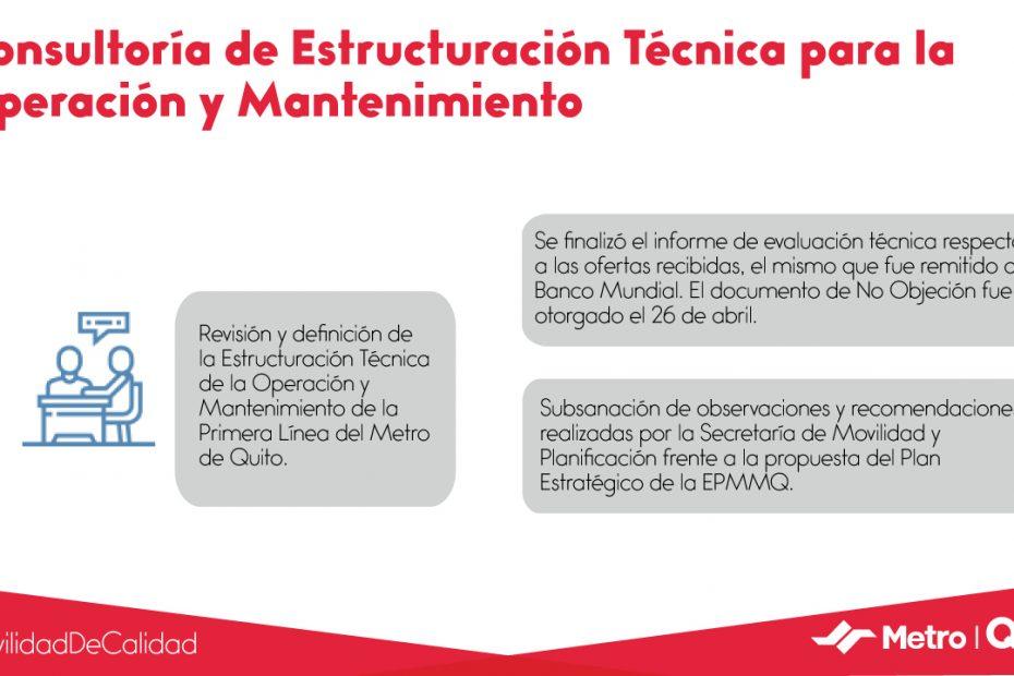 La gerenta general del Metro de Quito presentó ante el Concejo Metropolitano el informe quincenal sobre los avances para la operación.