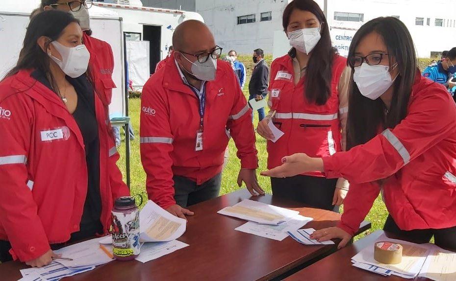 El 5 de mayo se realizó un ejercicio interinstitucional de simulación de emergencia para probar los protocolos de seguridad del Metro de Quito.