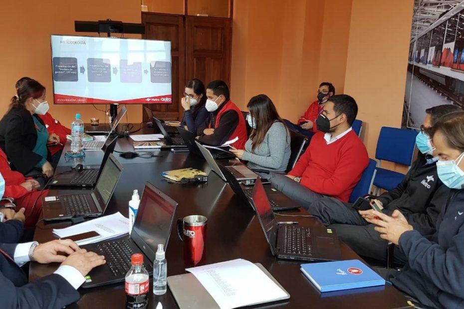 Este 19 de mayo iniciaron las mesas de trabajo dispuestas por el directorio del Metro de Quito para ratificar o rectificar el modelo de operación.