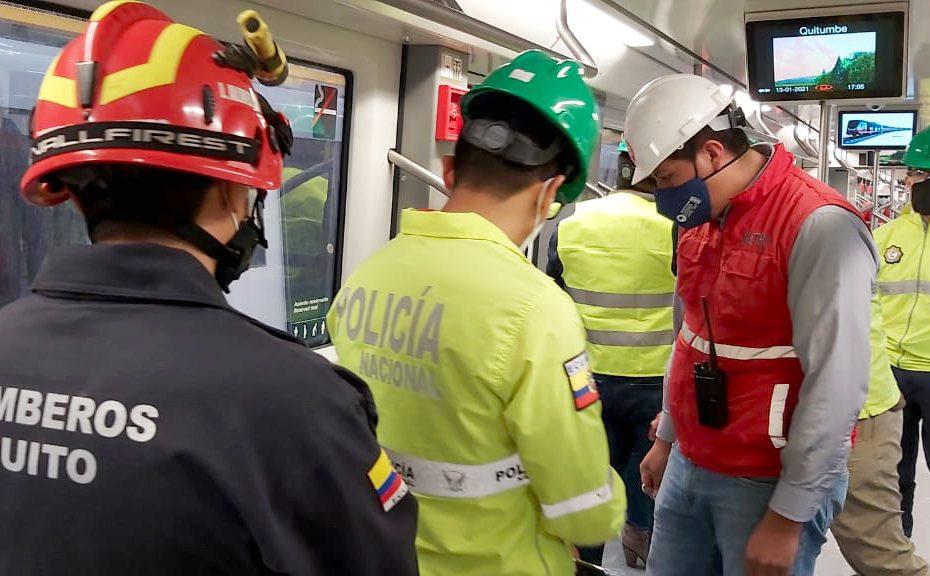 Metro de Quito trabaja para garantizar la seguridad durante cada viaje y que la ciudadanía conozca que la prioridad siempre será precautelar su bienestar.