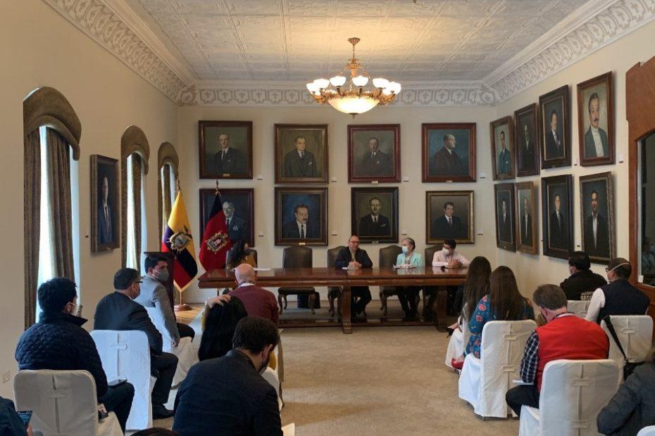 Metro de Quito y la administración municipal conformaron un comité interinstitucional para atender las afectaciones en Solanda.
