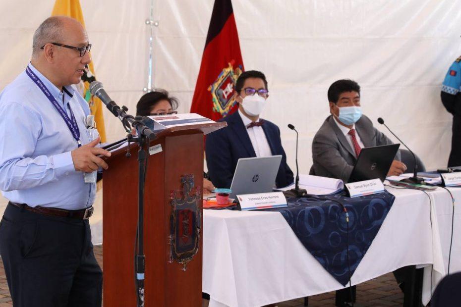 El gerente general del Metro de Quito realizó una presentación sobre los avances en la gestión ante el Concejo Metropolitano.