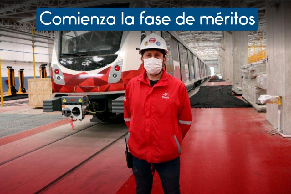 Inicia la fase de méritos del proceso de selección de operadores de trenes del Metro de Quito.