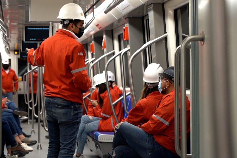 El 6 de agosto se realizó una prueba de movimiento tripulado en uno de los trenes desde Talleres y Cocheras hasta la estación San Francisco.