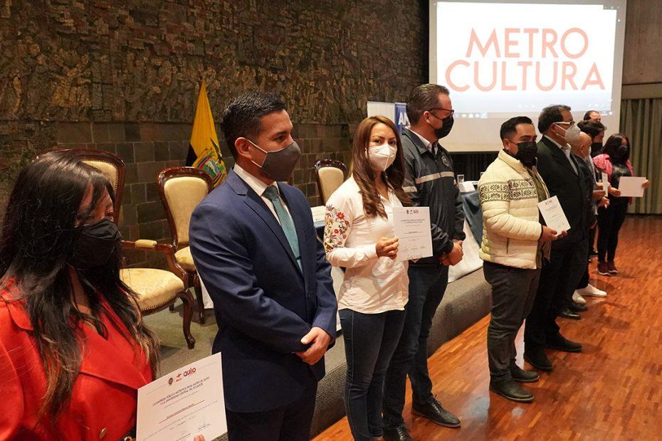 El 24 de agosto se entregó certificados a los participantes de MetroTalleres para promover el buen funcionamiento del Sistema Integrado de Transporte Público.