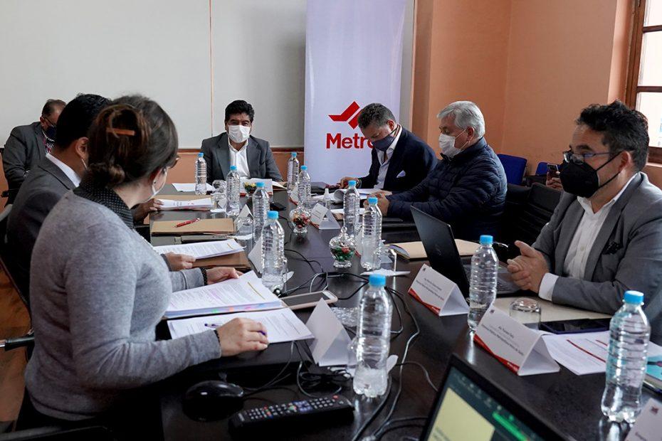 El 31 de agosto se reunió el Directorio del Metro de Quito para revisar temas relacionados con la gestión de la empresa.