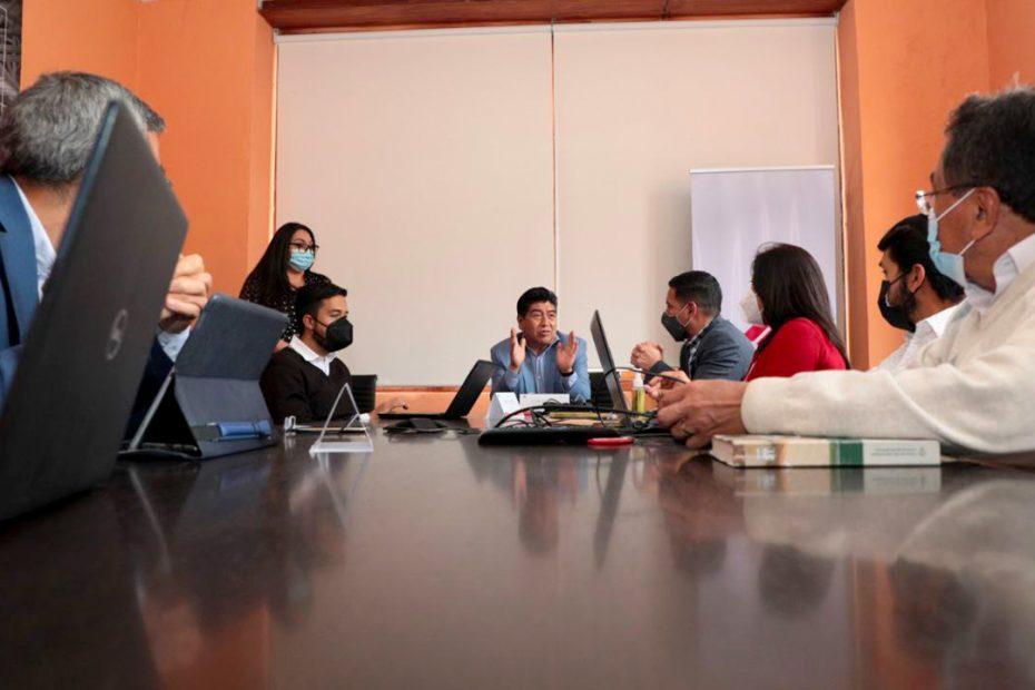 El 9 de septiembre se realizó una reunión en el Metro de Quito con el alcalde Jorge Yunda para dar a conocer el avance de las obras.
