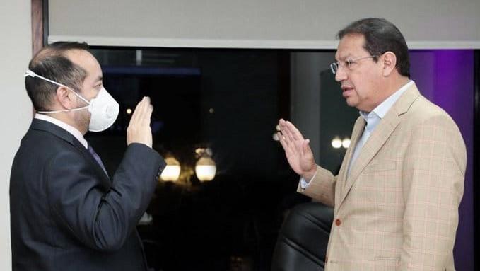 Con decisión unánime del Directorio del Metro de Quito se designó a Efraín bastidas como el nuevo gerente general.